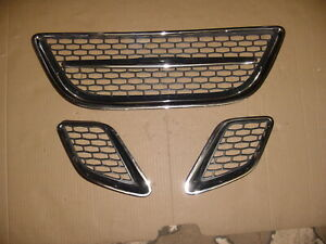 05 06 07 08 09 Saab 97x 9 7x Left Right Center Front Upper Outer Grilles Grill 2