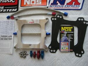 Blowout Priced W extra Jets new Holley 4150 Cheater Nitrous Plate Kit 55 250hp
