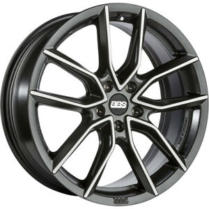 4 19x8 5 Black Machined Wheel Bbs Xa 5x112 32