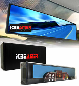 Broadway 11 8 Convex Blue Tint Interior Rearview Mirror Snap On Blind Spot G578