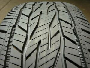 2 Continental Crosscontact Lx20 Ecoplus 255 55r20 107h Used Tire 9 10 32 59236