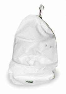 Bullard Bib Hood Universal White For Use With Papr Or Supplied Air
