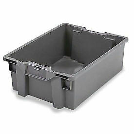 Orbis Stack n nest Pallet Container Gs6040 36 23 5 8 X 15 3 4 X 14 1 4 Gray