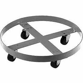 Stainless Steel Drum Dolly For 55 Gallon Drum 800 Lb Capacity 1 Each