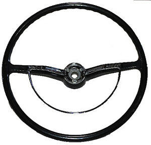 Vw Vintage Parts New Black Steering Wheel Kit For 63 71 Bug Ghia And T 3