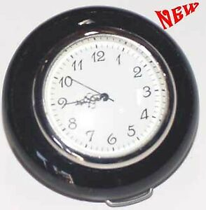 Vw Vintage Parts Horn Button new Clock Style Black Bug Ghia t 3