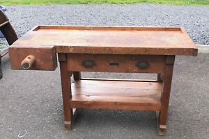 Very Old Cabinetmaker S Bench For A Child Size Person By Educational Playthings
