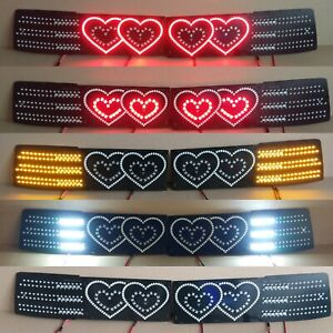 Toyota Supra Mk3 hearts Led Lanterns Conversion Kit restyle 89