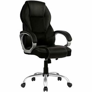 Home Office Chair Desk Ergonomic Computer Arms Lumbar Support Headrest Modern