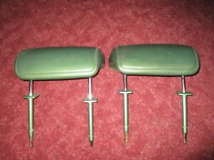 Plymouth Volare 1978 Head Rests 2 Vintage Very Rare Find