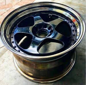 Nismo Lmgt2 Wheels By Ray s Re barreled With Authentic Oem Lips Super Rare