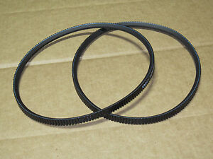 2 Pto Drive Belts For Ih International 154 Cub Lo boy 185