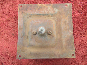 1953 1954 1955 Ford Truck Head Light Dimmer Switch W Mounting Plate
