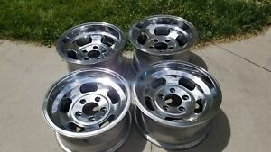14x7 14x8 Appliance Slot Wheels Rims Mags Ansen Sprint Style 5x4 75 Pattern
