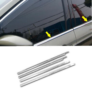 Chrome Stainless Steel Window Sills For 2008 2009 2010 2011 2012 Ford Escape
