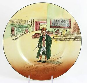 Antique Dickens Ware Collector Cabinet Plate Royal Doulton China D5175 Barkis