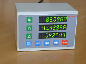 3 Axis Dro Display Ditron Dc503 Three Axis Digital Readout Display