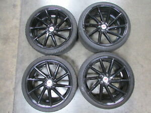 Maserati Quattroporte Set Of 4 Vossen Afm 20 Wheels W Tire Used