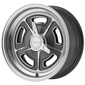 American Racing Vn502 15x5 5x4 5 12mm Gunmetal machined Wheel Rim 15 Inch