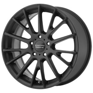4 american Racing Ar904 16x7 5x112 40mm Satin Black Wheels Rims 16 Inch