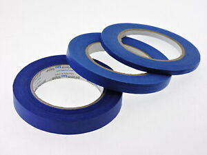 1 4 1 2 3 4 Inch Blue Painters Tape Masking Trim 21 Day Clean Release Usa Made
