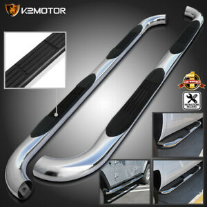 09 18 Dodge Ram 1500 Quad Cab 3 Chrome S S Side Step Nerf Bar Running Boards