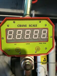 Industrial Digital Hanging Crane Scale Ocs c Heavy Duty Weighing Scale 10 T