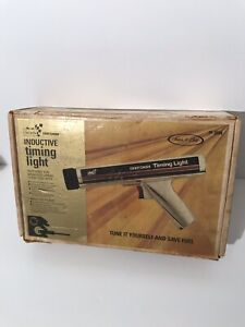 Vintage Boxed Usa Made Sears Induction Timing Light Gun 161 213400 Chrome