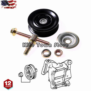 A C Drive Belt Tensioner Pulley Kit For Toyota T100 3 4l V6 Corolla Camry Rav4