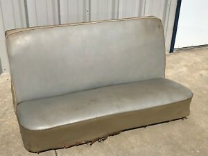 Ford Mercury Bench Seat Front 1948 1949 1950 1951 Very Nice Original