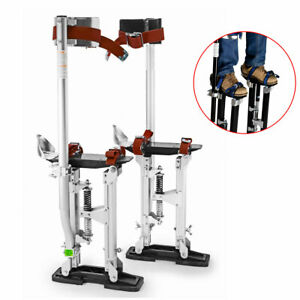 Hot Contractor Plus Professional Dual Spring Aluminum Drywall Stilts 24 40 P