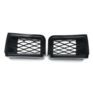 Front Bumper Caliper Air Duct Grille Cover For Chevrolet Silverado 1500 2003 07