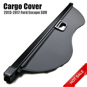 For 2013 2017 Ford Escape Rear Inner Trunk Security Cargo Cover Shade Shield