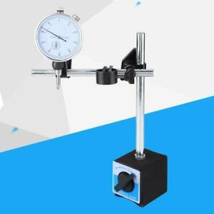 0 10mm Dial Test Indicator Accuracy 0 01mm Percentile With Magnetic Base