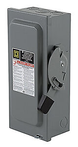 Square D By Schneider Electric 60 amp General duty Safety Switch D222ncp