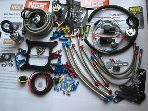 Super Deal New Nos 2 Stage Bigshot Holley 4150 Nitrous Plate Mini Kit 100 475hp
