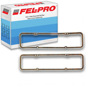 Fel Pro Valve Cover Gasket Set For 1957 1958 Chevrolet Del Ray Felpro Mp