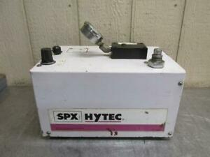 Spx Hytec Air Powered Pneumatic Hydraulic Pump Power Pack 5 000 Psi 100922
