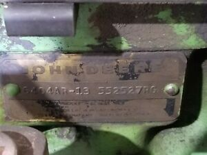 John Deere 4630 Used Runner Engine 6404ar 13 Price Includes 1000 Core Charge