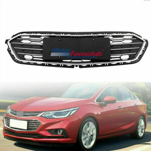 1pc Front Bumper Lower Grill Grille For Chevrolet Cruze 2016 2017 2018 Black