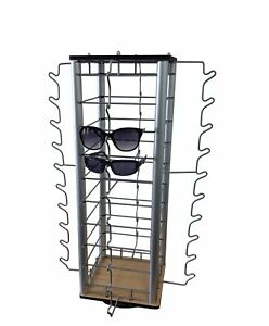 Eyewear Counter Display Spinner W Mirrors 40 pair Sunglass Reading Glass Retail