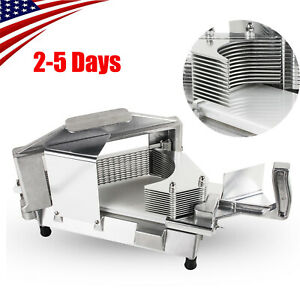 U Commercial Tomato Slicer 3 16 Perfectly Slice Stainless Steel Cutting Machine