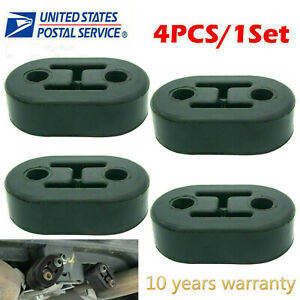 Polyurethane Rubber Exhaust Tail Pipe Mount Holder Bracket Hanger Insulator 4