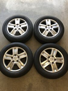 Oem Factory Toyota Tundra 20 In Wheels And Michelin 275 55 20 Tires With Tpms
