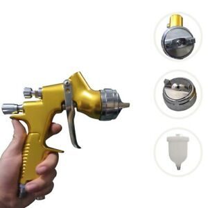 1 3mm Air Spray Gun Pro Hvlp Paint Auto Car Automotive Shop Painting Tools Kit