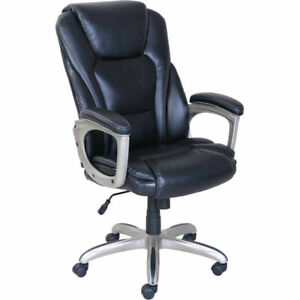 Big Tall Commercial Office Adjustable Chair W Memory Foam 350 Lbs Capacity