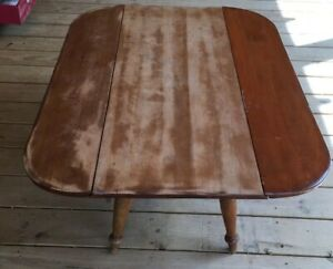 Cushman Colonial Creation Drop Side Coffee Table Mid Century Mcm For Restoration