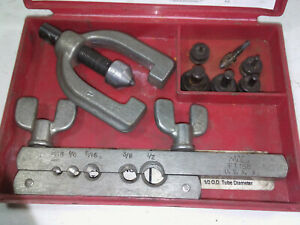 Mac Tools Ft158 Double Flaring Tool Kit