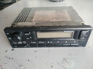 1999 2000 Honda Civic Oem Radio 39100 s01 a210 m1