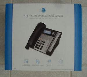 At t 4 Line Small Business System Compatible With At t1040 1070 1080 Units Only